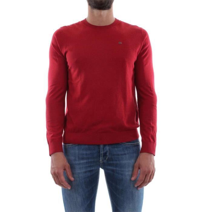 NAPAPIJRI PULL Homme RED APPLE, M Red apple