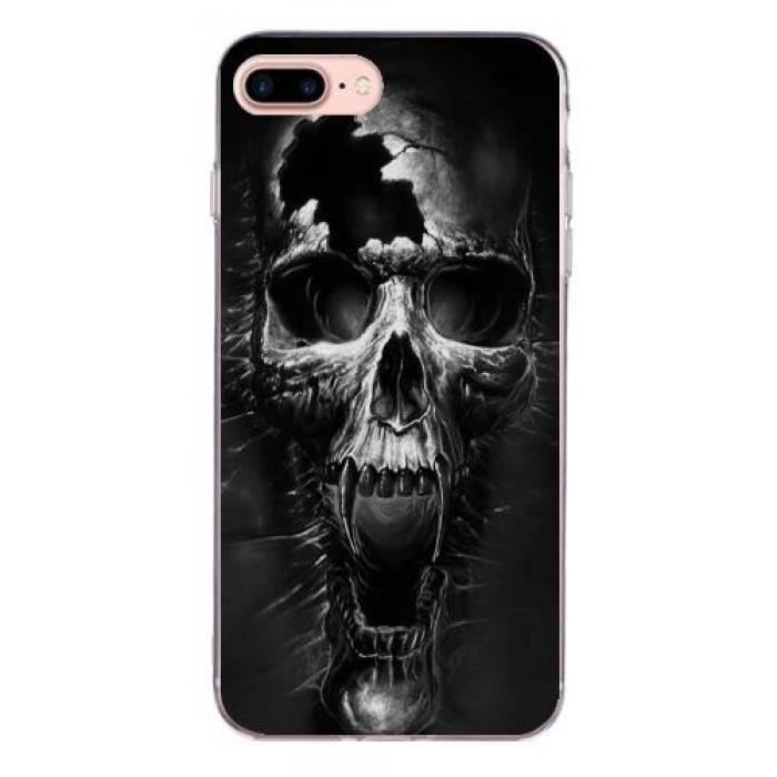 coque iphone 7 plus tete de mort
