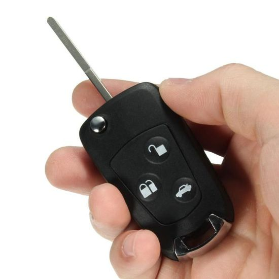 Clé Pliante Transformation clés de voiture convient pour FORD Fiesta Focus Mondeo Transit