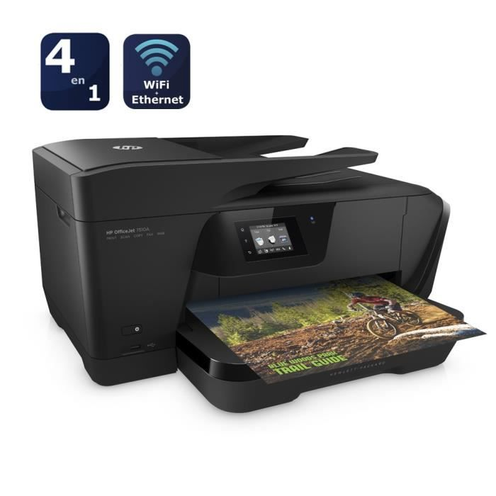 Imprimante HP Officejet 7510 (Format A3)