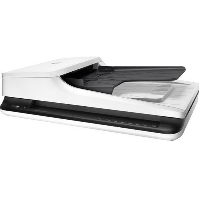 HP INC Scanner Scanjet Pro 2500F1 - A plat - Monochrome - USB 2.0 - RectoVerso - 216 x 3100 mm