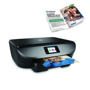 HP Imprimante Tout en un Envy Photo 7130 + forfait Instant Ink 100 pages