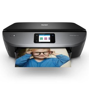 HP Imprimante Tout en un Envy Photo 7130 - compatible Instant Ink