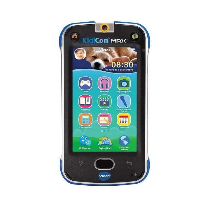 VTECH Kidicom Max Bleu - Smartphone Enfant