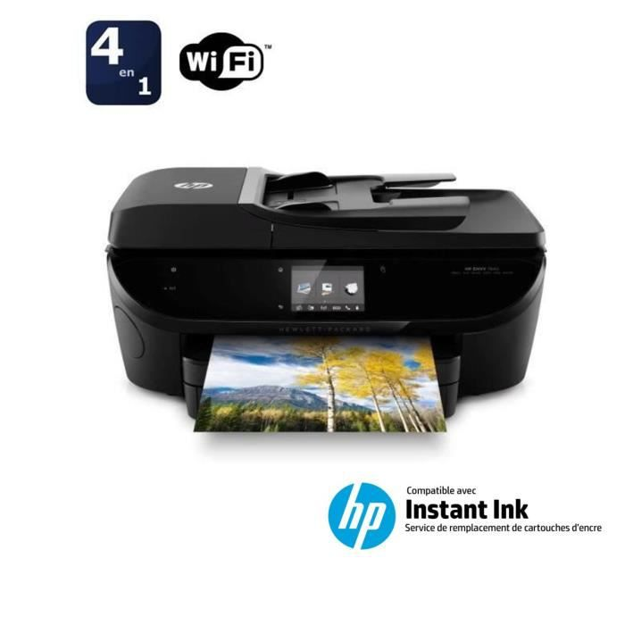 imprimante hp envy 7640 compatible instant ink prix. Black Bedroom Furniture Sets. Home Design Ideas