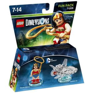 FIGURINE DE JEU Figurine LEGO Dimensions - Wonder Woman - DC Comic