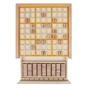 MALLETTE MULTI-JEUX Andux Zone Sudoku Jeu de Plateau de Puzzle en Bois