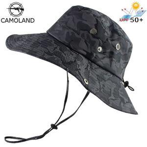 Hommes 100/% Coton Large Seau Pêcheur Chapeau Chasse Outdoor Climbing parasol Cap