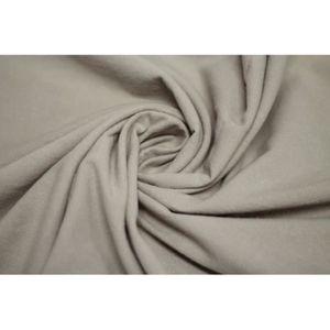 TISSU Tissu Coton Epais Uni Beige Coupon de 3 mètres