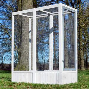 VOLIÈRE - CAGE OISEAU Volière Cage à oiseaux en bois de haute qualité 52