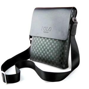 SACOCHE Polo Sacoche couleur Noir pour Homme b10858