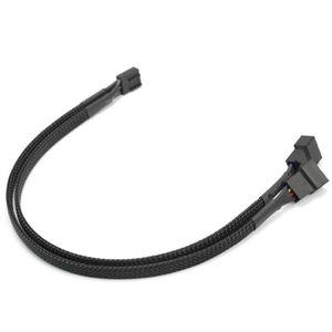 CÂBLE INFORMATIQUE Ventilateur PWM 4 Pin Extension Câble Connecteur 3