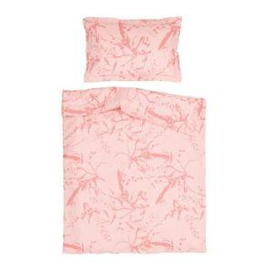 PARURE DE LIT BÉBÉ Aphrodite Rose - Pati'Chou 100% Coton Linge de lit