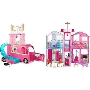 POUPÉE Pack Barbie - Cjt42 - Mobilier De Poupée - Camping