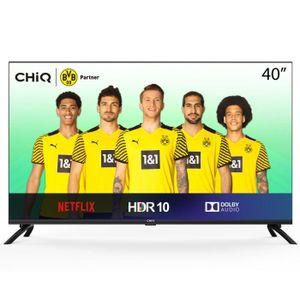 Téléviseur LED CHiQ L40H7N, 40 Pouces, Téléviseur Full HD, Smart