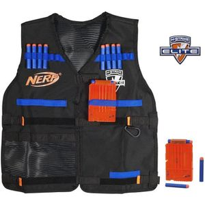 PISTOLET BILLE MOUSSE NERF ELITE - Tactical Vest