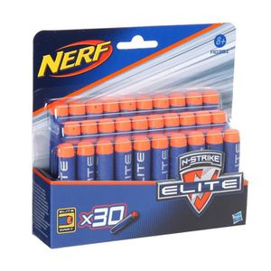 RECHARGE PISTOLET BILLE NERF Elite Recharges X30
