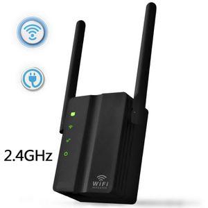 POINT D'ACCÈS Wifi Sans Fil Répéteur 2.4GHz 300 Mbps Double Ante