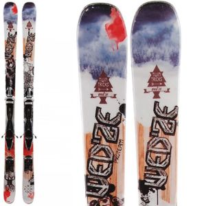 SKI Ski occasion Freestyle Freeride WED'ZE Twintricks