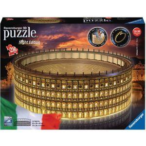 PUZZLE RAVENSBURGER -  Puzzle 3D 216 pièces Colisée Illum