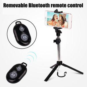 PERCHE - CANNE SELFIE Telescopique Bluetooth Selfie Stick Trépied Clip T