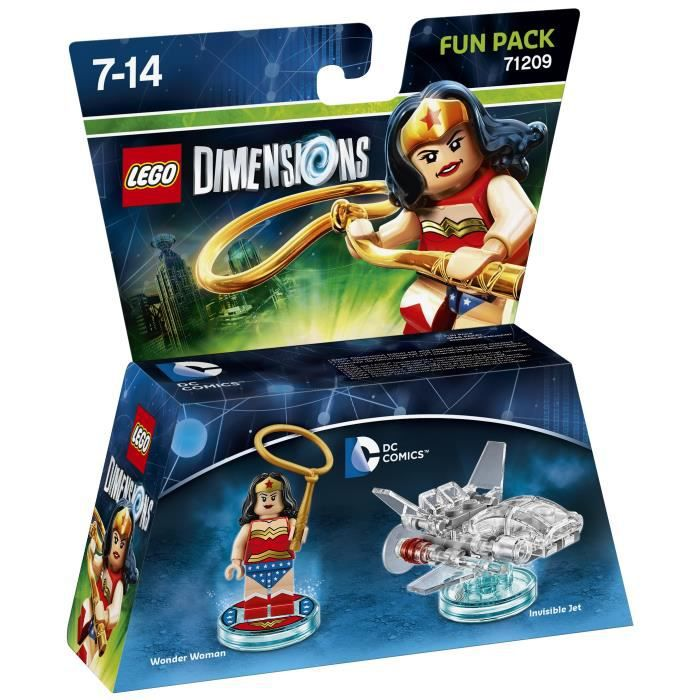 Figurine LEGO Dimensions - Wonder Woman - DC Comics