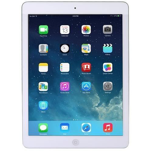 Apple iPad Air with Wi-Fi 16GB - White & Silver
