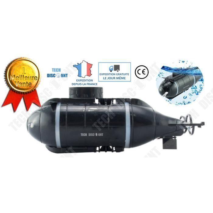 TD Sous marin jouet bain radiocommandé télécommande USB lumière la mer caméra modèle mini sans fil enfants 8 ans éducatif ludique