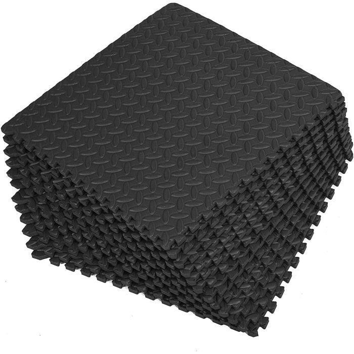 lot de 16 tapis de protection puzzle pour le sol, le fitness, la gymnastique, le sport, la piscine, la protection du sol, le sport