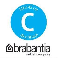 BRABANTIA Housse pour table à repasser Pack coloré - 124 x 45 cm