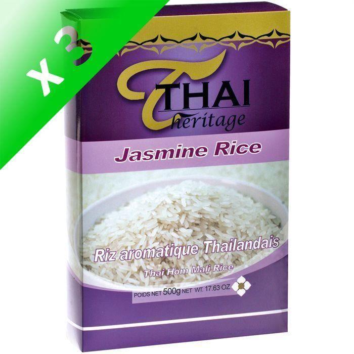 [LOT DE 3] Riz Thai parfumé