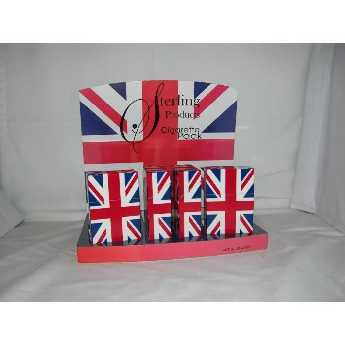 Boite à Cigarettes Design Drapeau Royaume-Uni