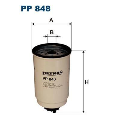 FILTRON Filtre à carburant PP 848