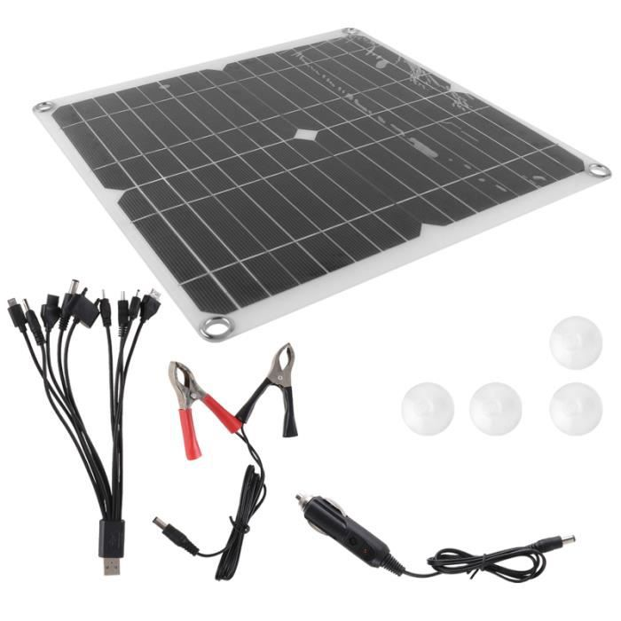 1 Set Panneau solaire de cellules solaires pour kit photovoltaique - kit solaire genie thermique - climatique - chauffage