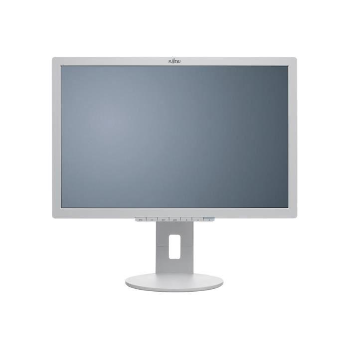 FUJITSU Moniteur LCD B22-8 WE Neo 55,9 cm (22-) WSXGA+ WLED - 16:10 - Gris Marbre - Résolution 1680x1050 - 16,7 Millions de couleurs