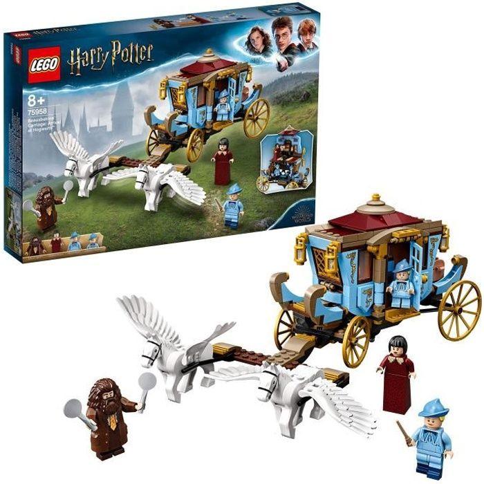 LEGO Harry Potter - Le carrosse de Beauxbâtons : l'arrivée à Poudlard, Jeu d'Assemblage 8 Ans et Plus, Jouet pour Fille et Garçon