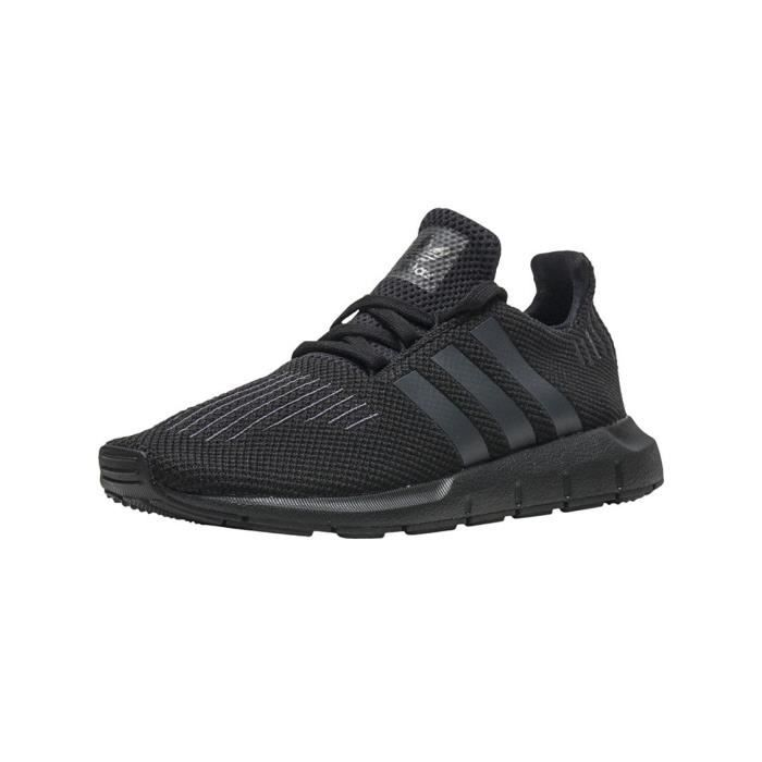 adidas Swift Run C, Chaussures de Fitness Mixte Enfant, Noir (Negbas/Neguti/Negbas), 34 EU