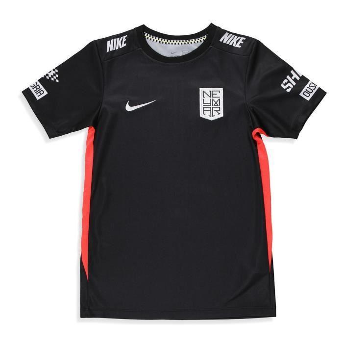Maillot Nike Dri-fit Neymar Jr noir enfant