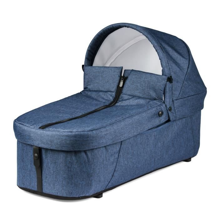 PEG PEREGO Nacelle souple pour poussette Book For Two - Bleu indigo