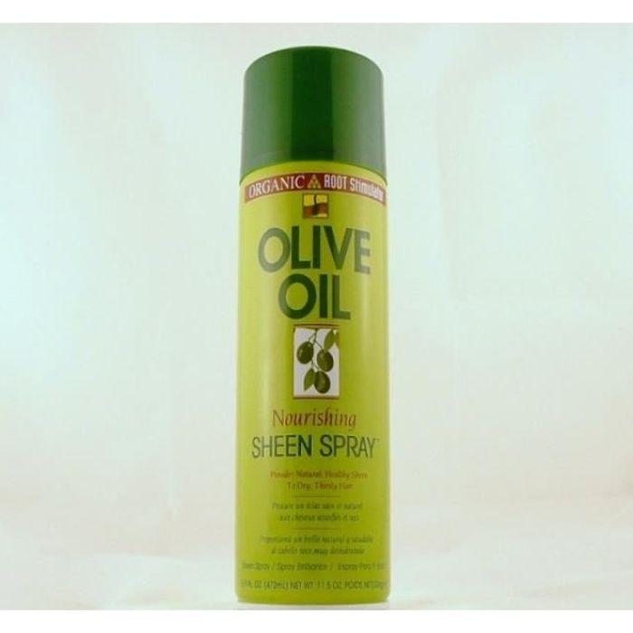 SHEEN SPRAY OLIVE OIL brillantine naturelle pou…