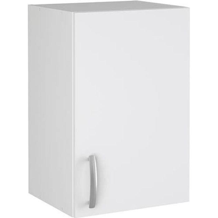 Meuble Haut de cuisine -NOVA- coloris Blanc - Dim :40 x 60 x 28 cm