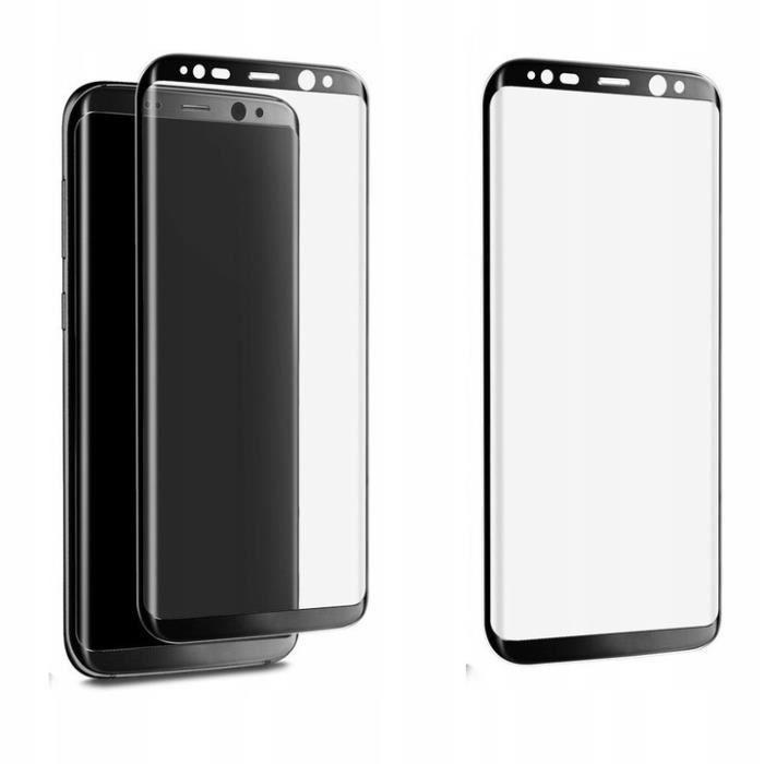Hartowana folia Samsung S8 / S9 + 3D × 3