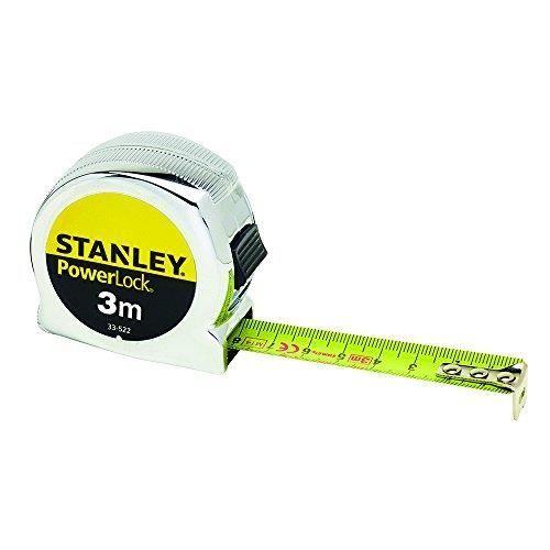 Stanley 033522 Powerlock Classic Tape 3m 0-33-522