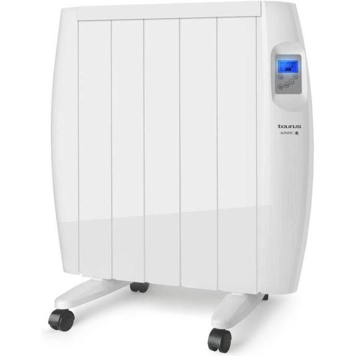 TAURUS Radiateur électrique à inertie sèche Malbork 900 - 900W