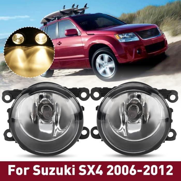 TEMPSA Paire de Feux antibrouillard avant avec câblage ampoules H11 pour Suzuki SX4 Grand Vitara 06-12