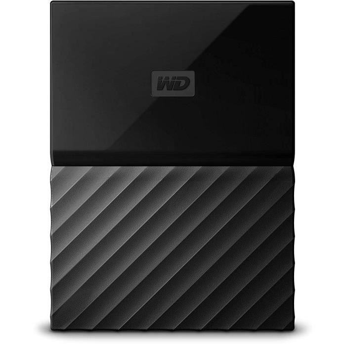 WD Disque dur Externe My Passport 4 To + 1 Housse Offerte