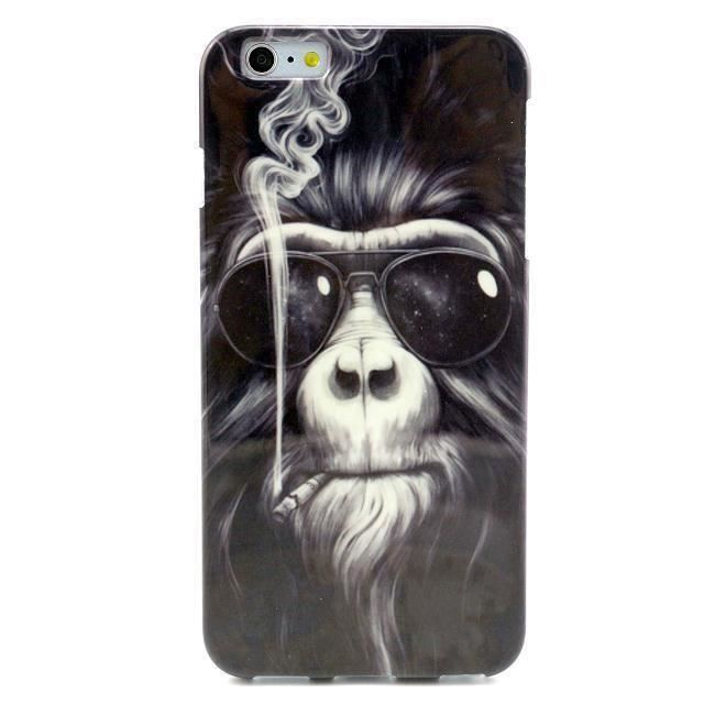 coque iphone 5 5s singe qui fume monkey smoke swag