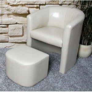 Fauteuil relax avec repose pieds simili cuir achat vente fauteuil cdisc - Fauteuil relax simili cuir ...