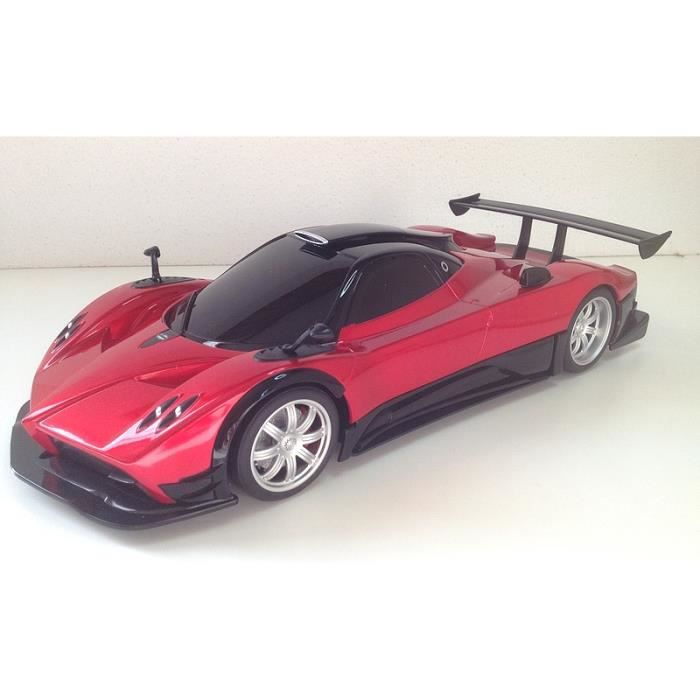 pagani zonda r rouge radiocommande voiture rc achat vente voiture camion pagani zonda r. Black Bedroom Furniture Sets. Home Design Ideas