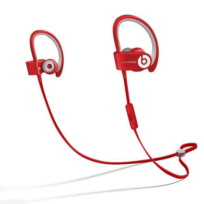 beats powerbeats ecouteur bluetooth sport rouge casque couteur prix pas cher cdiscount. Black Bedroom Furniture Sets. Home Design Ideas